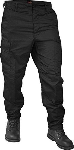 normani US Rangerhose Freizeithose BDU Hose Farbe Schwarz Größe 5XL