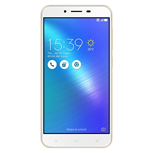 Asus ZenFone 3 Max Dual-SIM Smartphone (14 cm (5,5 Zoll) Full-HD Touch-Display, 32GB Speicher, Android 6.0) gold