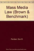 Mass Media Law (Brown & Benchmark)