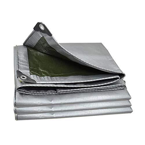 DFREW Lona Impermeable de Lona Impermeable Lonas de Toldos Espesor de 0,35 Mm, 180 G/M²- Proteja Su Tienda de Campaña, de Superficie Plana, Leña, O en el Techo, 15,2M X 3M