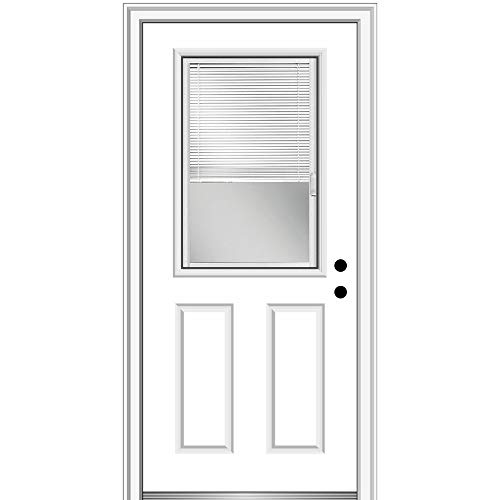 National Door Company ZFS684BLFS26L Fiberglass...