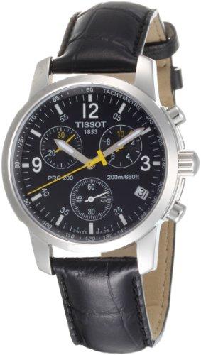 Tissot PRC 200 T1 - Reloj de Caballero de Cuarzo, Correa de Piel Color