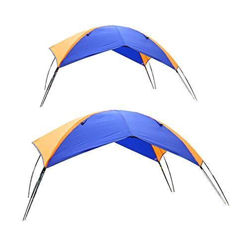Amagogo 2 / 4Person Impermeable Barco Toldo Parasol Canoa Kayak Toldo Refugio Tienda UV