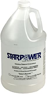 Stardust Spill Products Starpower D312CS 1 Gallon Bottle Includes 1 Empty 32-Ounce Labeled Sprayer for Dilution, Case of 4