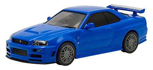 Brian's 2002 Nissan Skyline GT-R - Fast and Furious (2009), Authentic Movie Decoration, Chrome Accents, Movie Themed Packaging, Protective Acrylic Case, True-to-Scale Detail, Limited Edition -  GREENLIGHT, 86219