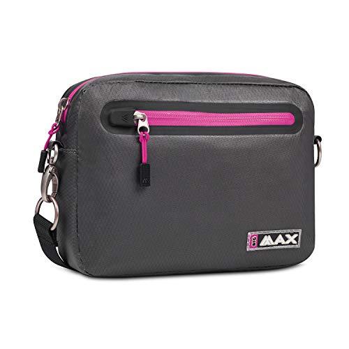 Big Max Aqua Value Bag Golf Clutch Unisex Tragetasche (Grau/Pink)