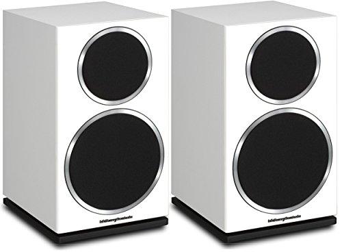 Wharfedale Diamond 220 Lautsprecher,Weiß - Lautsprecher (2-Wege, mit Kabel, 56–20000Hertz, 8Ohm)