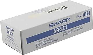 Sharp Genuine Brand Name, OEM ARSC1 Laser Toner Staple Cartridges (3/Box) (5K YLD/Ctg)