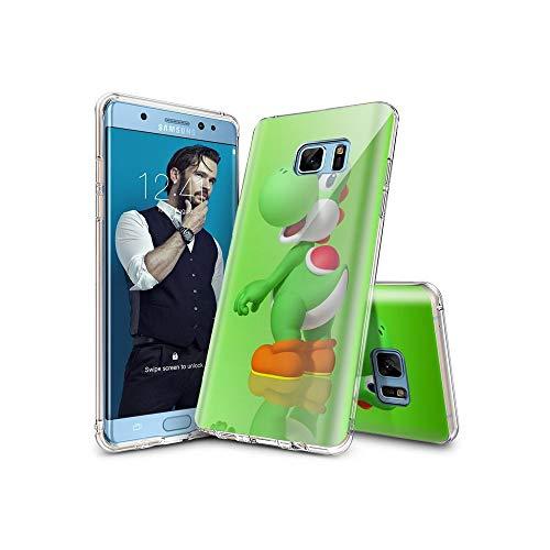 VSoUGMESa #002A Samsung Galaxy S7 Edge Hülle, Dünnes weiches TPU-Silikon flexibel [Stoßdämpfer] Schutzhülle für die Samsung Galaxy S7 Edge VSGW#002