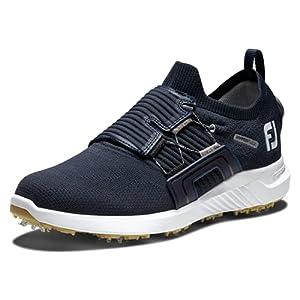 FootJoy Men's Hyperflex Boa Golf Shoe, Midnight Blue, 11
