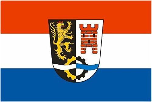 U24 Aufkleber Landkreis Schwandorf Flagge Fahne 15 x 10 cm Autoaufkleber Sticker