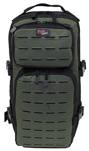 FOX Outdoor Zaino militare escursioni viaggi campeggio Backpack Assault-Travel