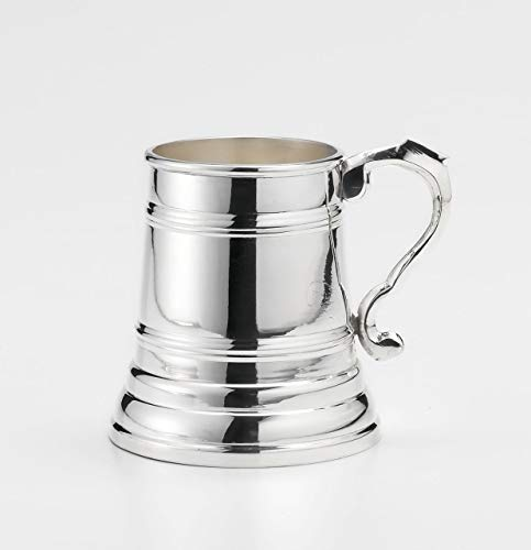 ROYAL QUEEN Portapenne Mug Boccale Tankard in Sheffield cod.518531 cm 12h diam.8 by Varotto & Co.