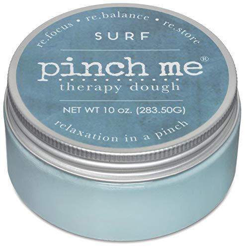 Pinch Me Therapy Dough - Holistic Aromatherapy Stress Relieving Putty - 10 Ounce Surf Scent