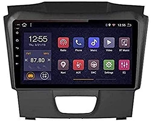 Radio de Coche para Chevrolet S10 2015 a 2018, Pantalla táctil estéreo para Coche Mirrorlink Manos Libres Sat Nav Llamadas GPS MP5 2DIN USB SWC Dab + BT (Color: Wifi1g + 16g)