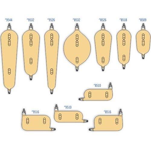 UC8510EA - Urocare Sport-Left Reusable Latex Leg Bag, Small 10 fl oz.