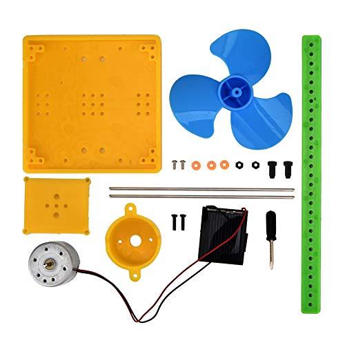 Mini generatore di energia solare Modello di ventilatore Generatore solare Giocattolo del ventilatore Kit fai da te Giocattolo Generatore solare Giocattolo del ventilatore, Generazione del