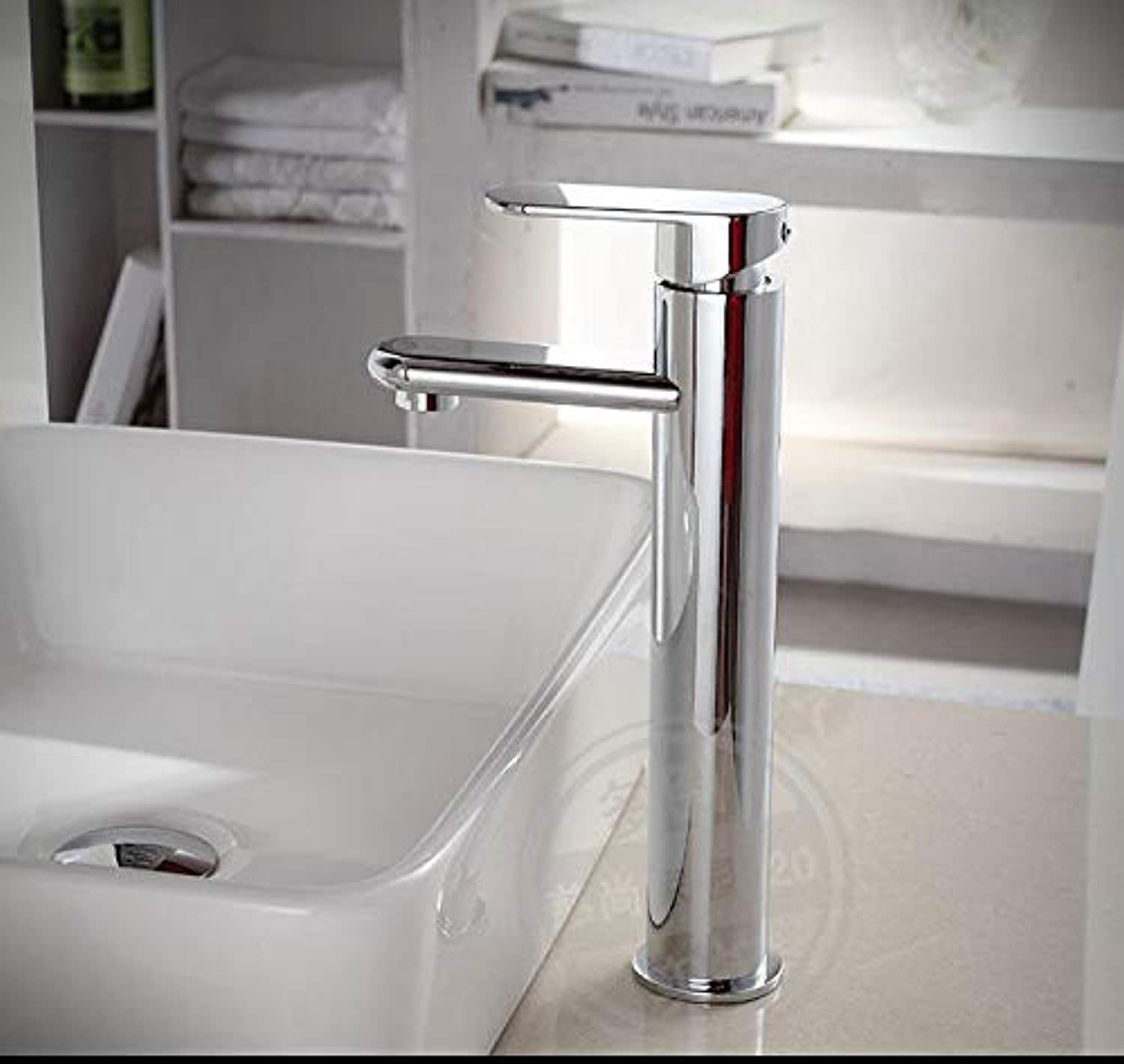 PajCzh Sink Bathroom Sink Taps Copper Faucet Hot And Cold Single Hole Basin Basin Faucet Above Counter Basin Wash Basin Sink Faucet, A, 1