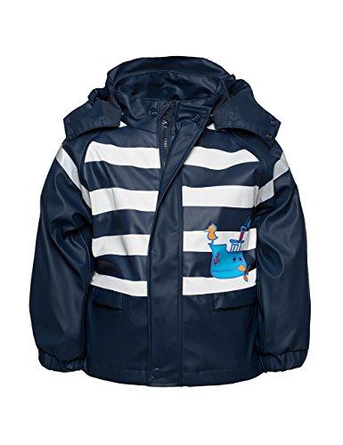 Maximo 76003 - Mädchen Regenjacke Regenmantel mit Jerseyfutter Little Sailor (104)