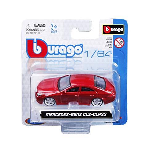 Bburago 59045 - Vehículo Bugatti Veyron Vitesse Escala 1:64, Color Naranja