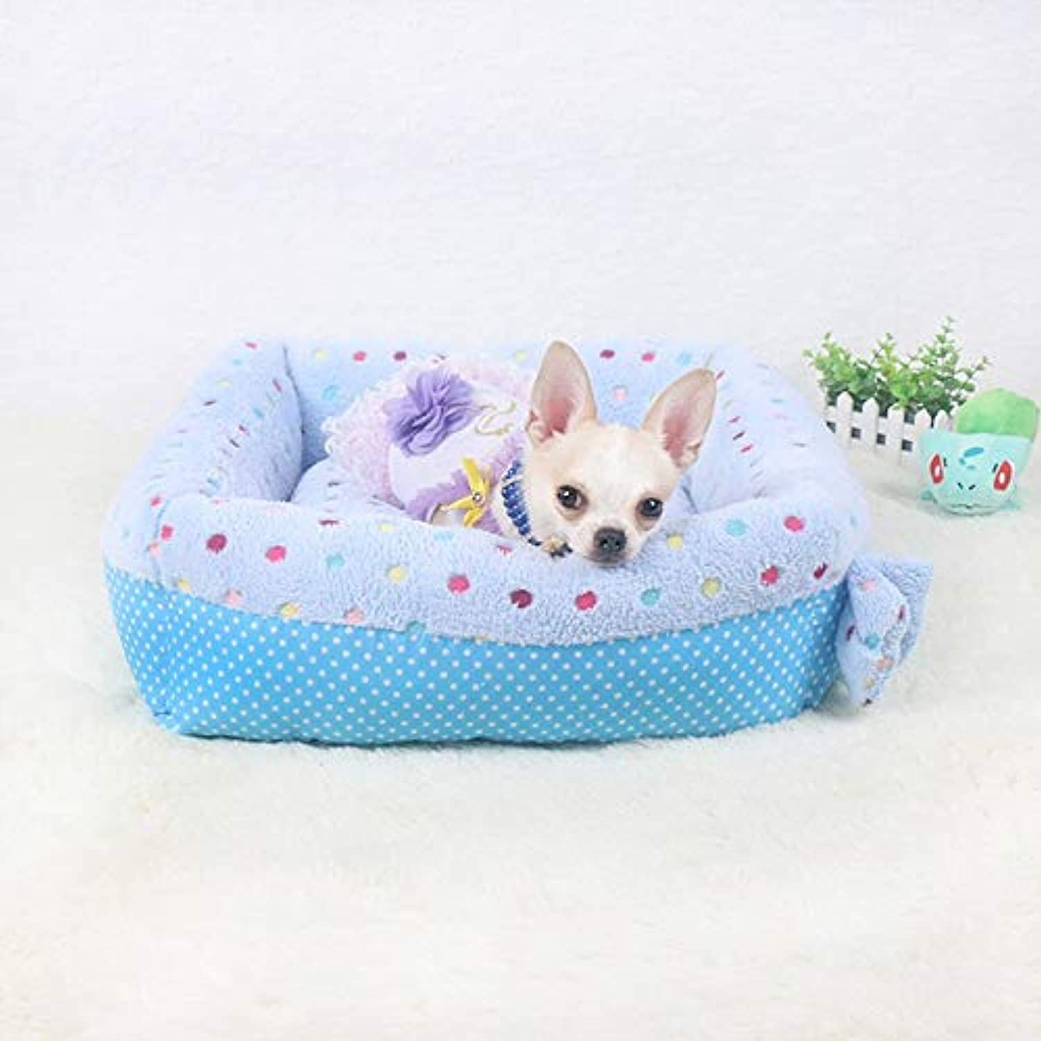 Aigou Dog Bed Pet Dog Mats Soft Breathable Fall And Winter Warming Dog Kennel Bed For Kitten Puppy Sleeping Mat House Big Blanket Pet Products