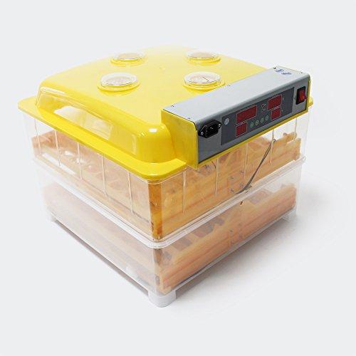 WilTec Couveuse Automatique Incubateur Éclosoir 112 Oeufs