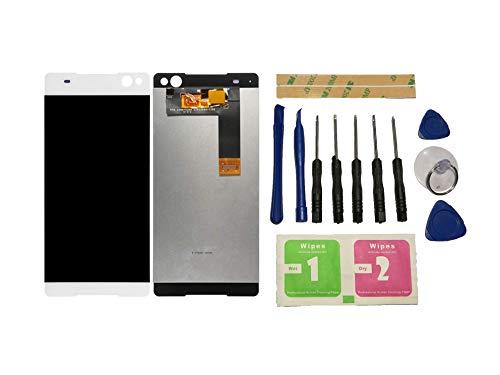 Flügel para Sony Xperia C5 Ultra / E5506 / E5533 / E5563 / E5553 Pantalla LCD Pantalla Blanco Táctil digitalizador Asamblea Pantalla (sin Marco) de Recambio & Herramientas