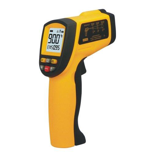WOPUTUO GM900 berührungslosen Infrarot-Thermometer Laser-Punkt -50 ~ 900 ° C (-58 ° F ~ 1652)