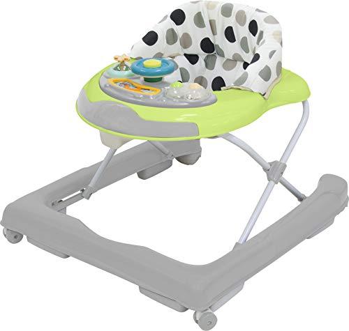 Bieco Baby Lauflernhilfe | 3in1 | Gehfrei Baby ab 6 Monaten | Baby-Walker | Spielcenter mit Aktivität & Melodien | Kippsichere Kinder Lauflernhilfe | Höhenverstellbar | Mit Schaukelfunktion