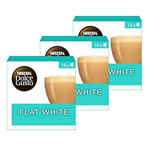 Nescafé Dolce Gusto capsules Flat White – 48 koffiecups – geschikt voor 48 koppen koffie – Dolce Gusto cups