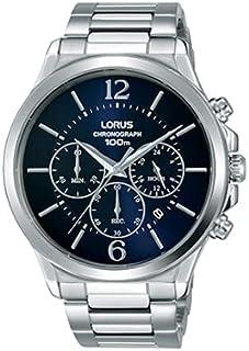 ساعة لوروس اوربان كرونوغراف ستانلس ستيل للرجال موديل RT317HX9