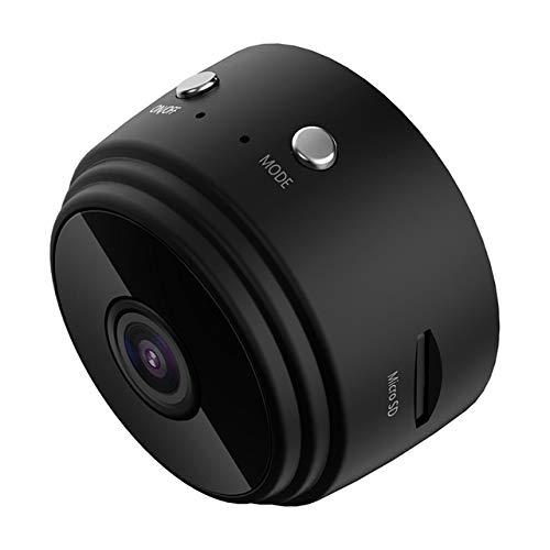 FWUDI Backkamera med omvänd radar intelligent fjärrkontroll WIFI HD-övervakningskamera, lämplig för A9 trådlöst nätverk infraröd nattvisionskamera (färg: svart)