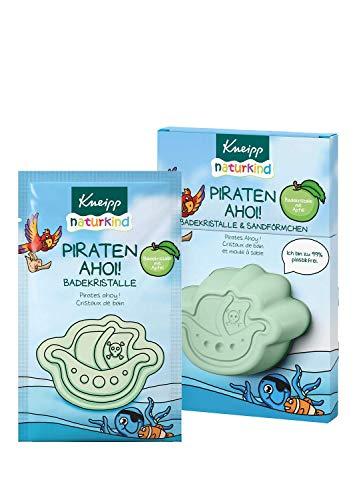 Kneipp Naturkind Piraten Ahoi! Badekristalle & Sandförmchen, 60 g