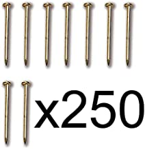 Constructo 80022. Clavos de Laton. 12mm. 250 Unidades. Puntas de Laton. Accesorio modelismo Naval