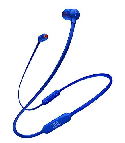 JBL T110BT met Bluetooth oortelefoon Wireless/microfoon afstandsbediening/magneet bevestigde blauwe JBLT110BTBLUJN [Genuine binnenlandse/Studio met 1 jaar garantie]