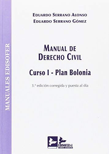 MANUAL DE DERECHO CIVIL: CURSO I - PLAN BOLONIA