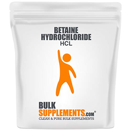 BulkSupplements.com Betaine HCl Powder - Gallbladder Supplements - Digestive Support - Betaine Hydrochloride (1 Kilogram)