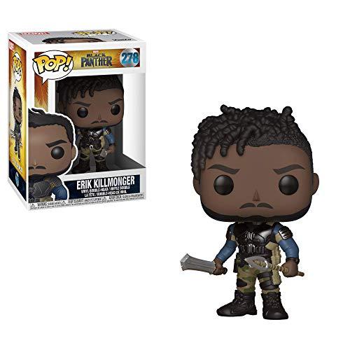 Funko Pop! - Marvel Black Panther: Killmonger Figura de