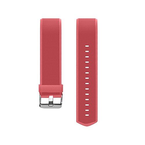 Vigorun Fitness Tracker Correas Pulseras de Repuesto YG3 Plus HR Activity Tracker (Rojo)