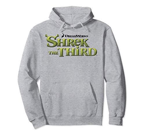 Shrek The Third DreamWorks Ogre Title Logo Sudadera con Capucha