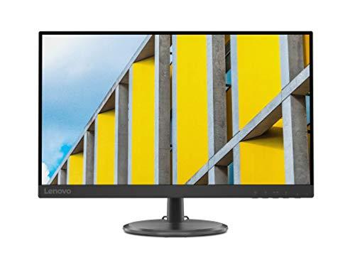 Lenovo C27-35 Monitor, Display 27' Full HD VA, Bordi Ultrasottili, FreeSync, 4ms, 75Hz, Cavo HDMI, Input HDMI + VGA, Black