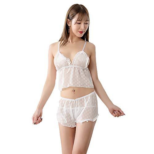 Rhpnyi Pijama Sexy, lencería Sexy, Traje Dividido de...
