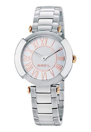Orologio BREIL per donna FLAIRE con bracciale in acciaio, movimento SOLO TEMPO - 3H QUARZO