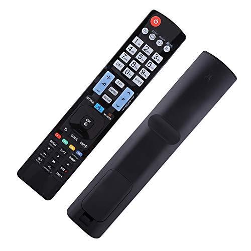 Gedourain Control Remoto de TV, Control Remoto de Repuesto, Teclas de navegación de menú dedicadas para AKB73615309 AKB72615379 AKB72914202