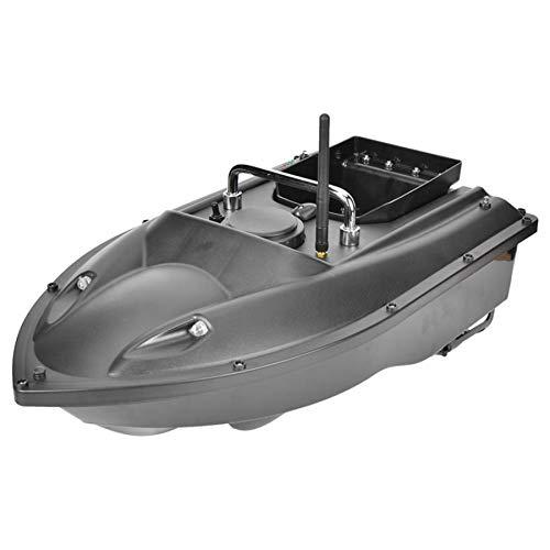DYJD 500M Wireless Smart RC Bait Boat Auto Cruise 1.5k Cargar Pesca Nido Barco Alimentación Entrega Cargando Bait Boat Fish Finder Speedboat,Negro