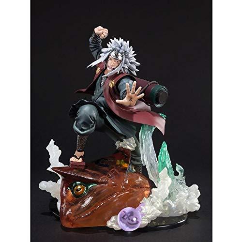 QTRT Naruto/Jiraiya und Gama-Bunta PVC Anime Cartoon Game Character Modell Statue Figur Spielzeug Collectibles Dekorationen Geschenke Lieblings von Anime-Fan