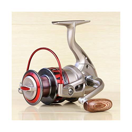 OYPY Metal Spinning Pesca Reel 1000-7000 Series Izquierda/Rocker Derecha Intercambiable 5.5: 1 10BB + 1 Bolas de rodamiento Rueda de Pesca (Color : 11, Talla : 2000 Series)