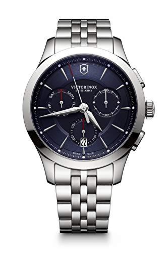 Victorinox Hombre Alliance - Reloj de Acero Inoxidable de Cuarzo analógico de fabricación Suiza 241746