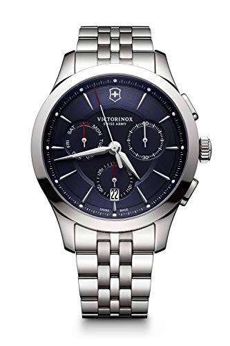 Victorinox Herren Alliance - Swiss Made Analog Quarz Edelstahl Uhr 241746