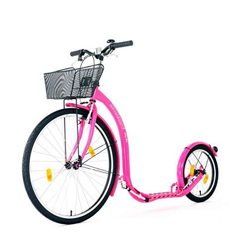 Kickbike City G4 pink Stadtroller Tretroller Erwachsene